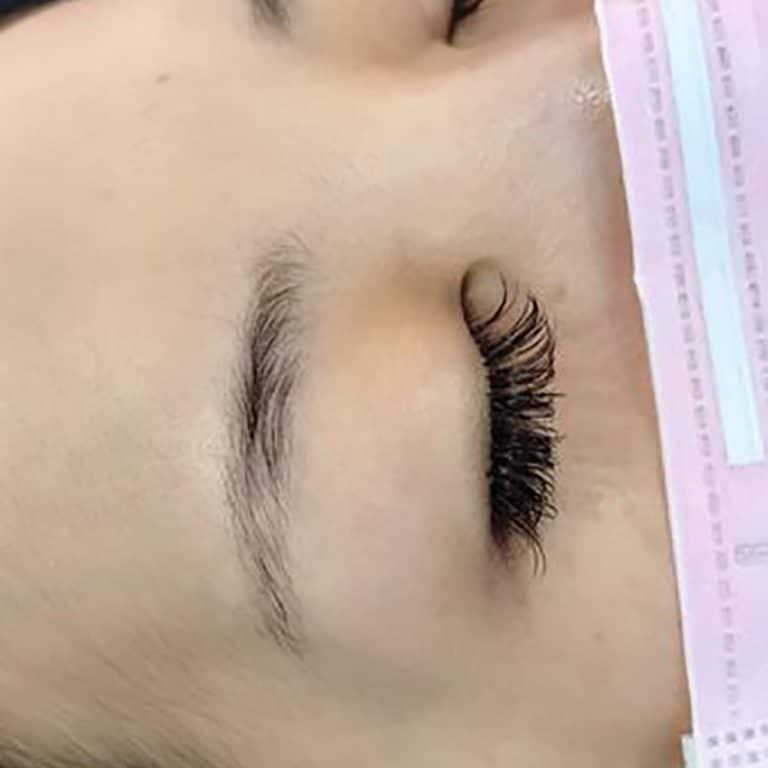 台北洗眉推薦美智紋繡-洗眉後無須貼人工皮