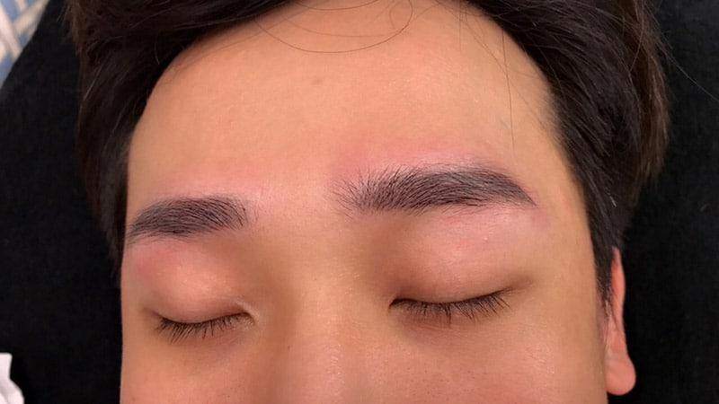 美智紋繡-男士飄眉